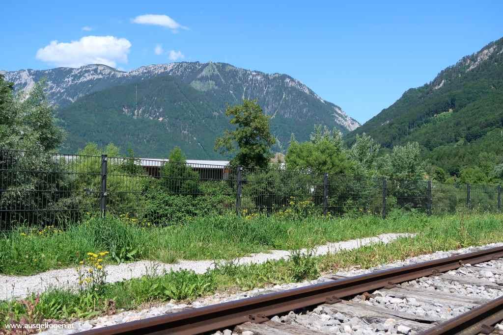 Schwarzatal Radweg Reichenau