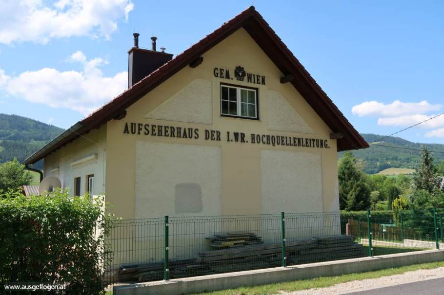 Aufseherhäuschen der 1. Wiener Wasserleitung