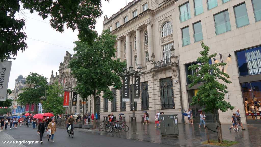 Antwerpen Städtetrip De Keyserlei