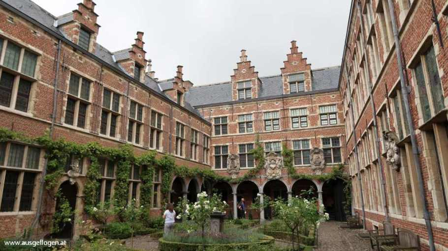 Museum Plantin-Moretus Antwerpen Azoren im Winter