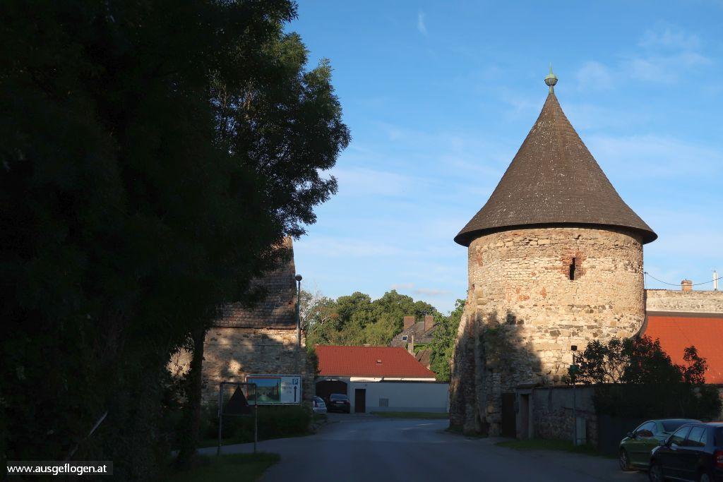 Marchegg Stadtmauer Wienertor