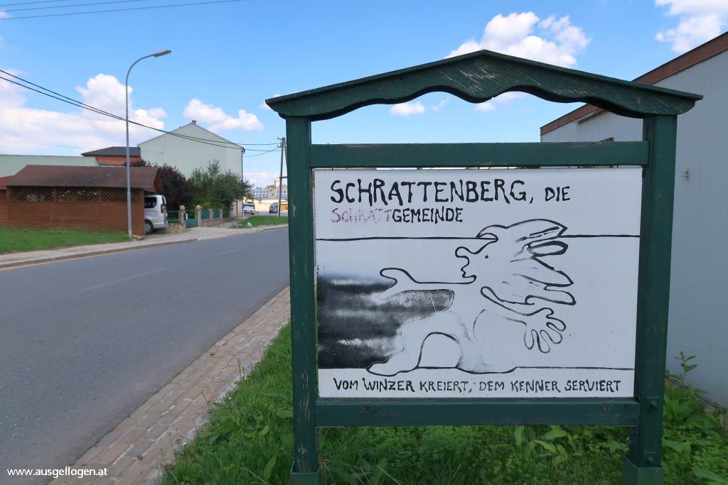 Grenze Nordosten Österreich Schrattenberg