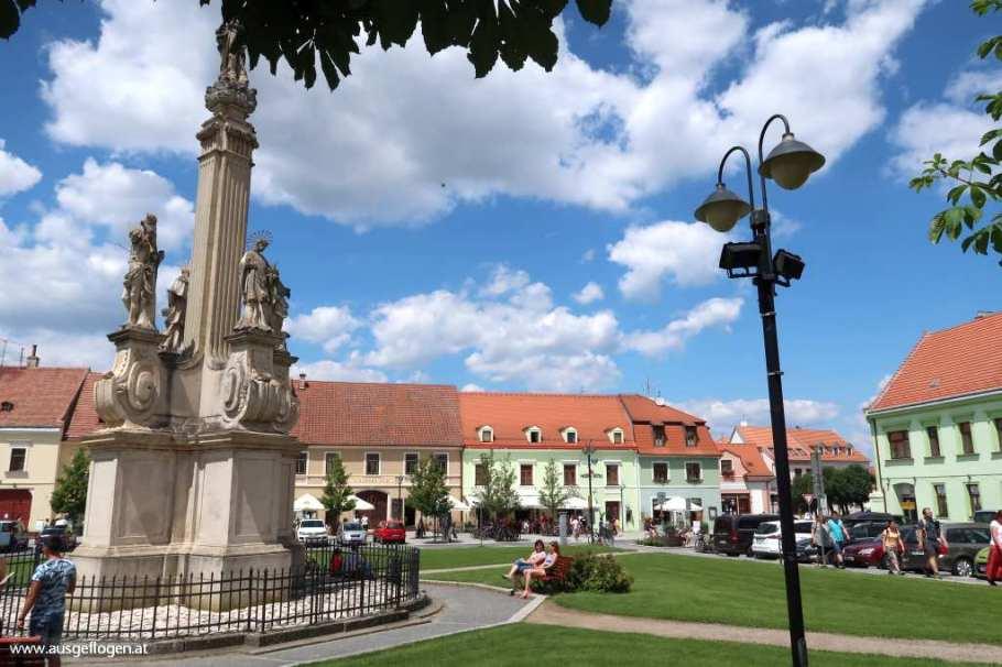 Valtice Hauptplatz