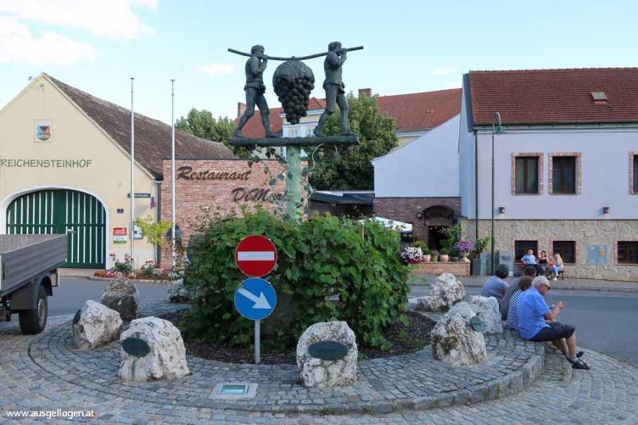Kreisverkehr Poysdorf