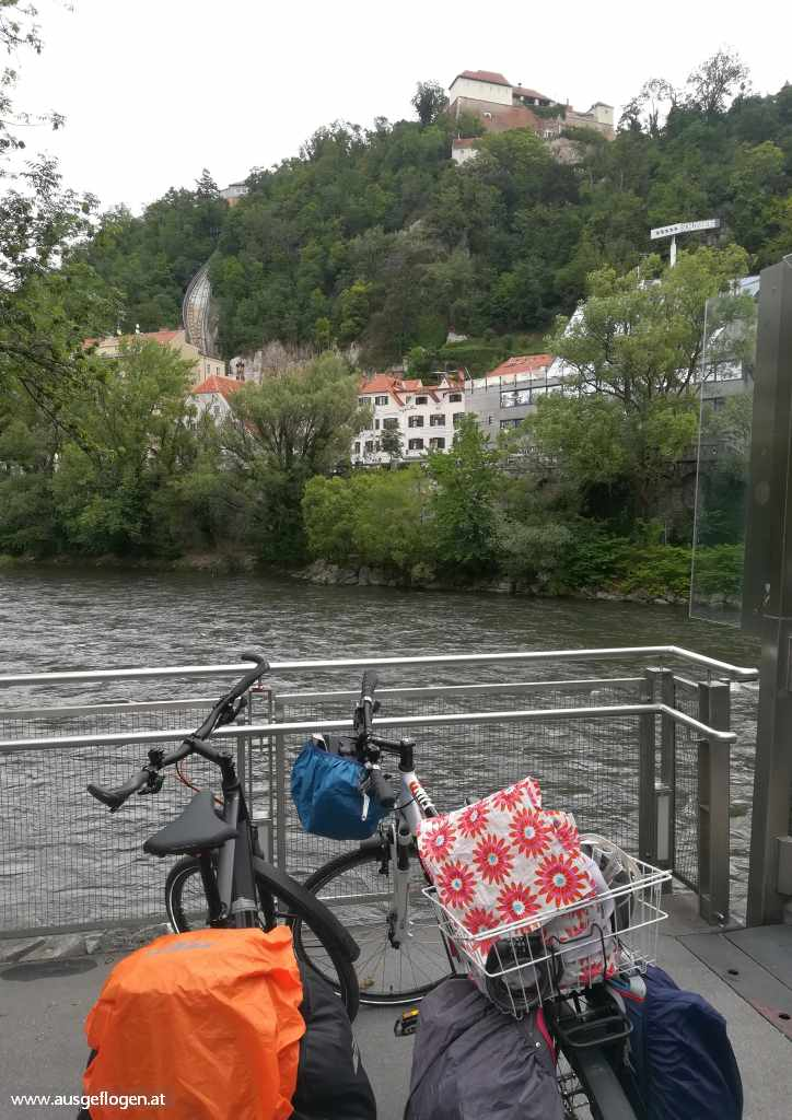 Murradweg Graz Murinsel