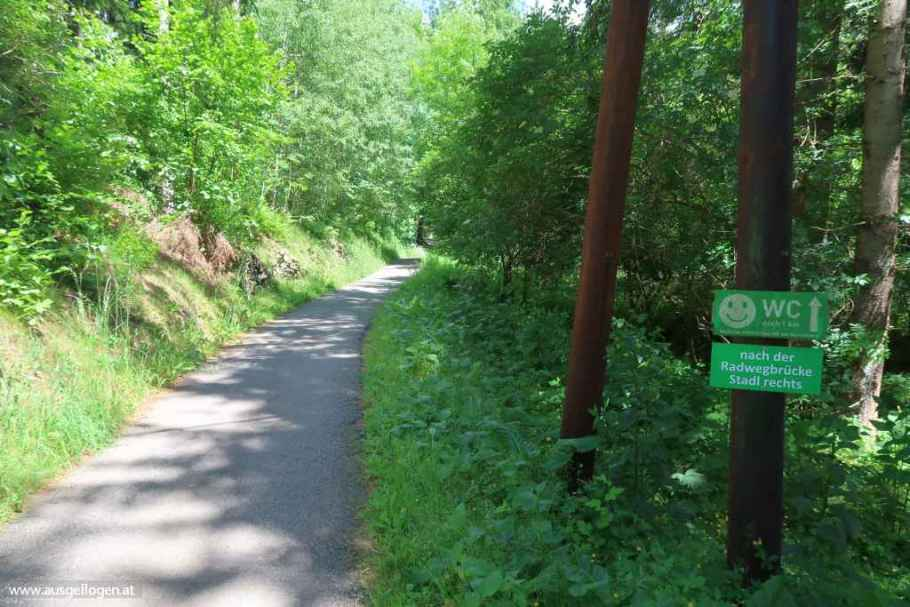 Murradweg Etappen Oberes Murtal