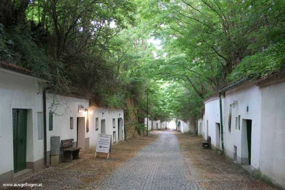 Poysdorf schönste Kellergasse Weinviertel Radygasse