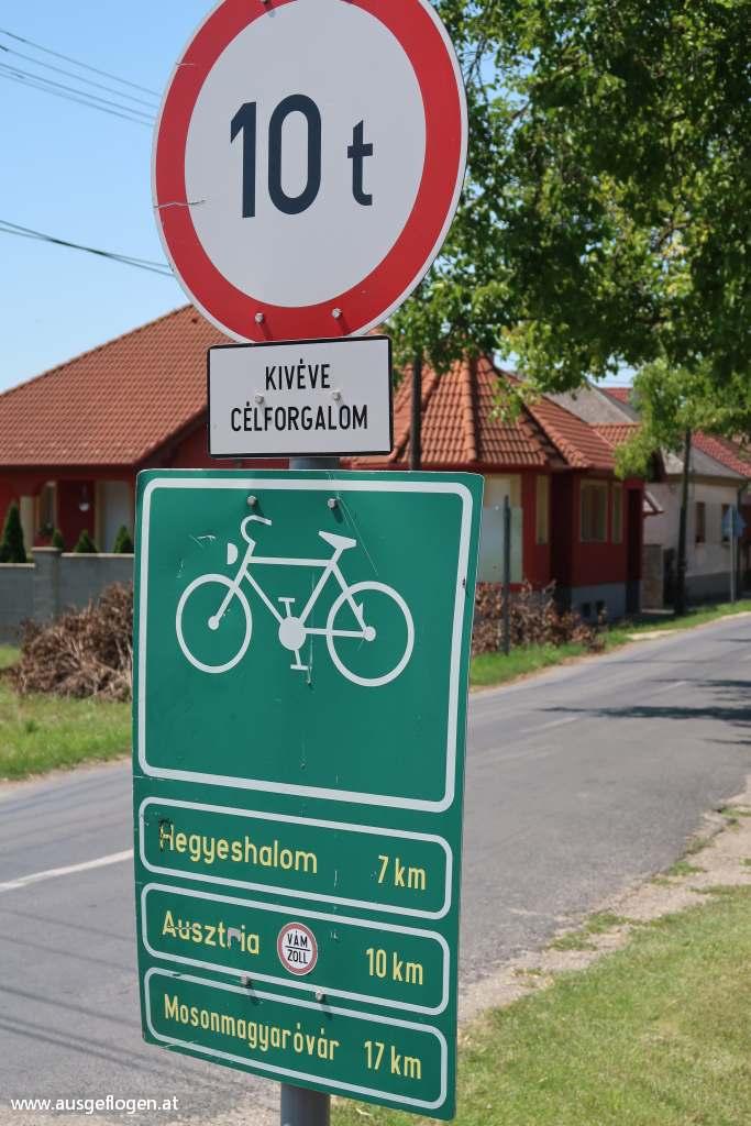 Radwege Donau Slowakei
