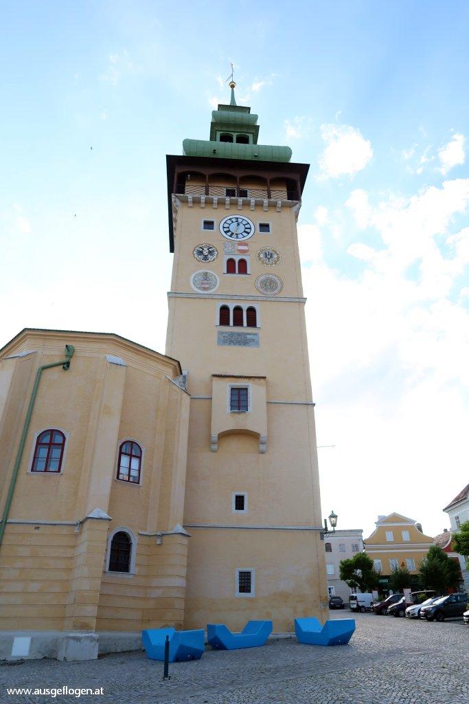 Retz Hauptplatz Altes Rathaus