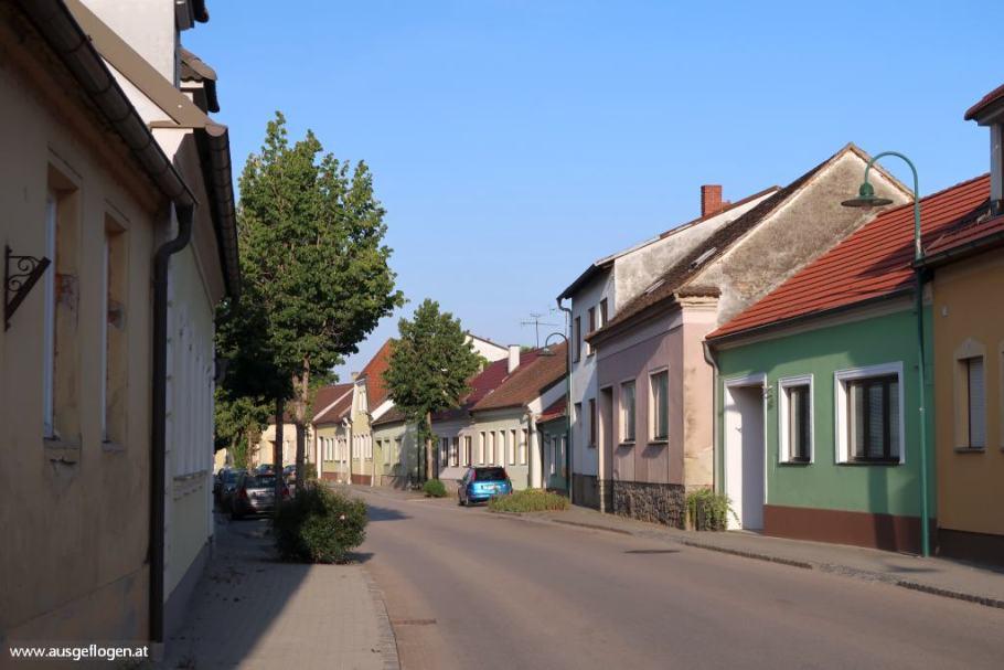 Pulkautal schönes Straßendorf Obritz