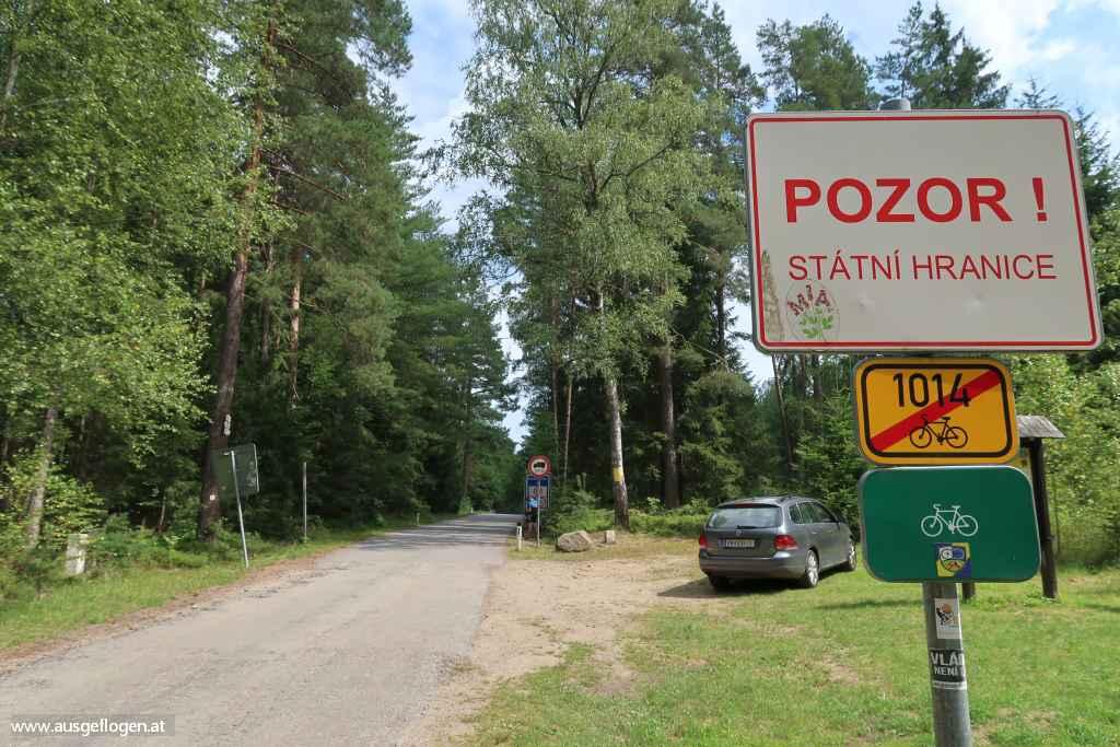 Grenzübergang Schlag Litschau Waldviertel