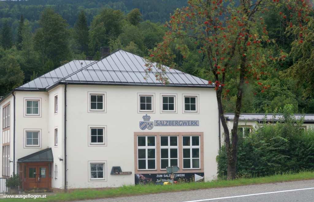 Berchtesgaden Sehenswürdigkeiten Salzbergwerk