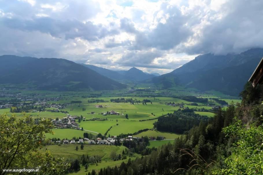Blick auf Saalfelden