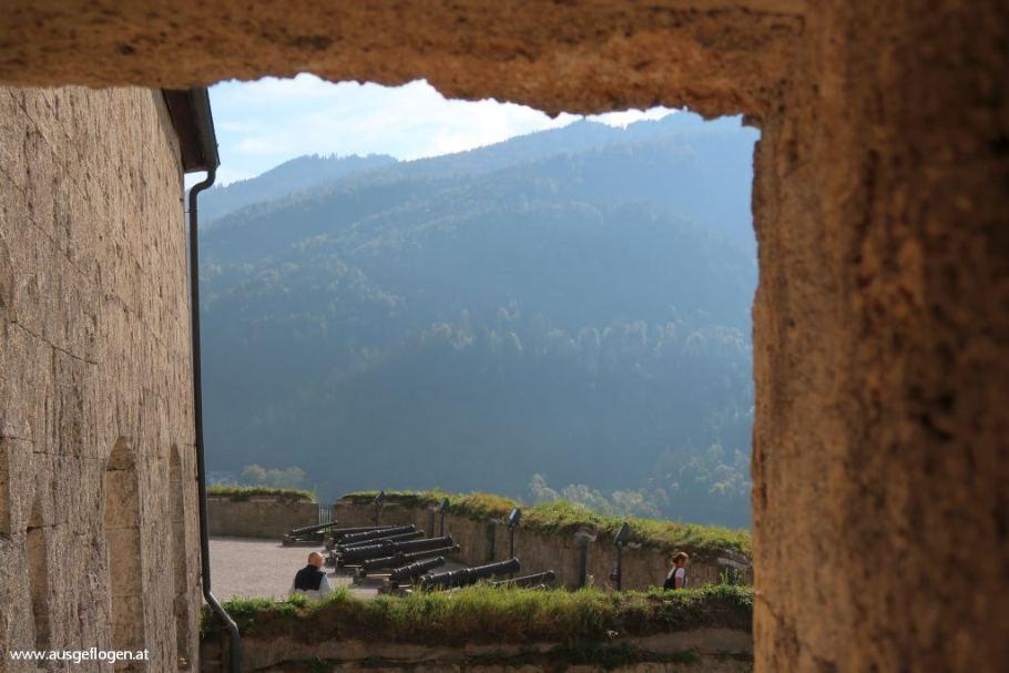 Festung Kufstein Blick
