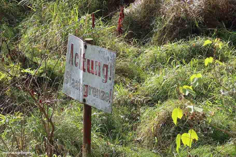 Gmünd Grenzübergang Bleyleben