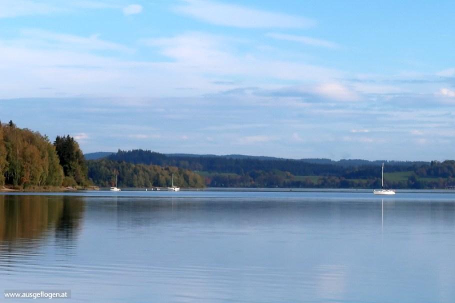 Moldaustauseen Ausflug Böhmerwald