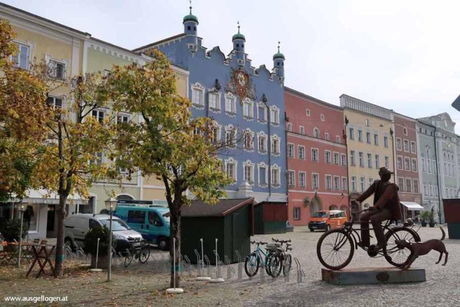 Burghausen Sehenswürdigkeiten Spaziergang Altstadt