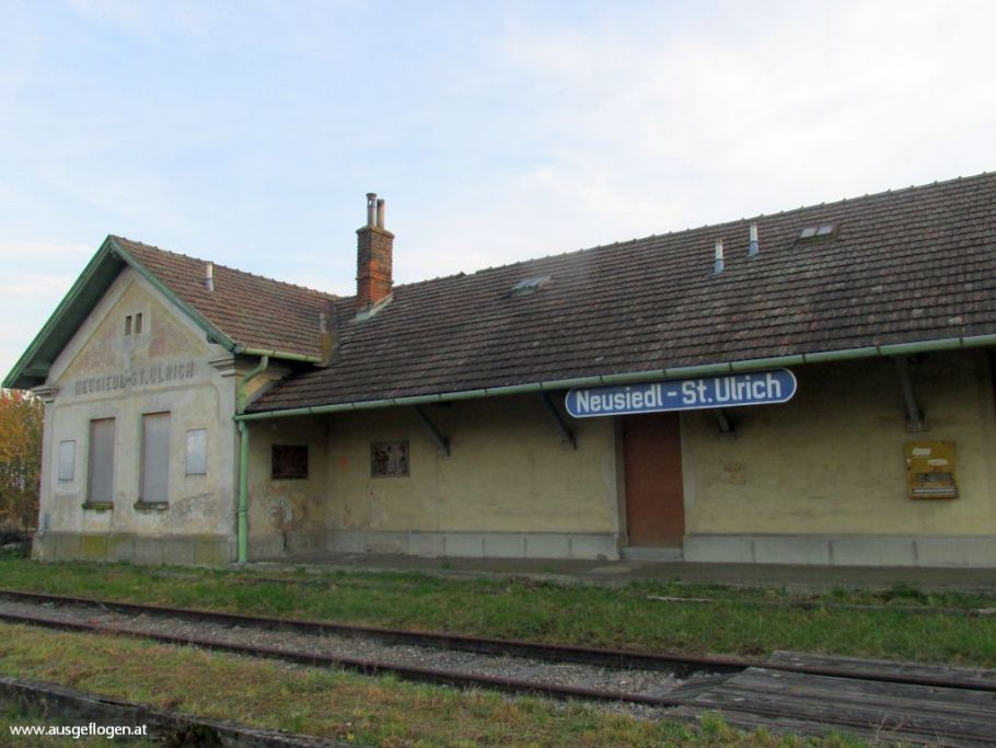 Lost Places Niederösterreich Neusiedl Bahnhof