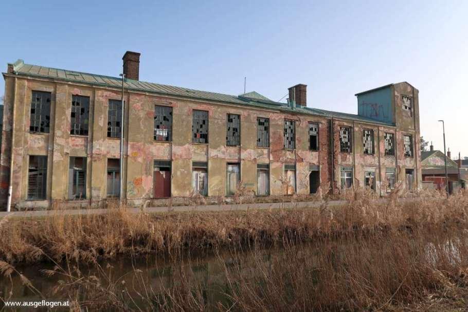 Lost Places Niederösterreich Thermenradweg Blechfabrik