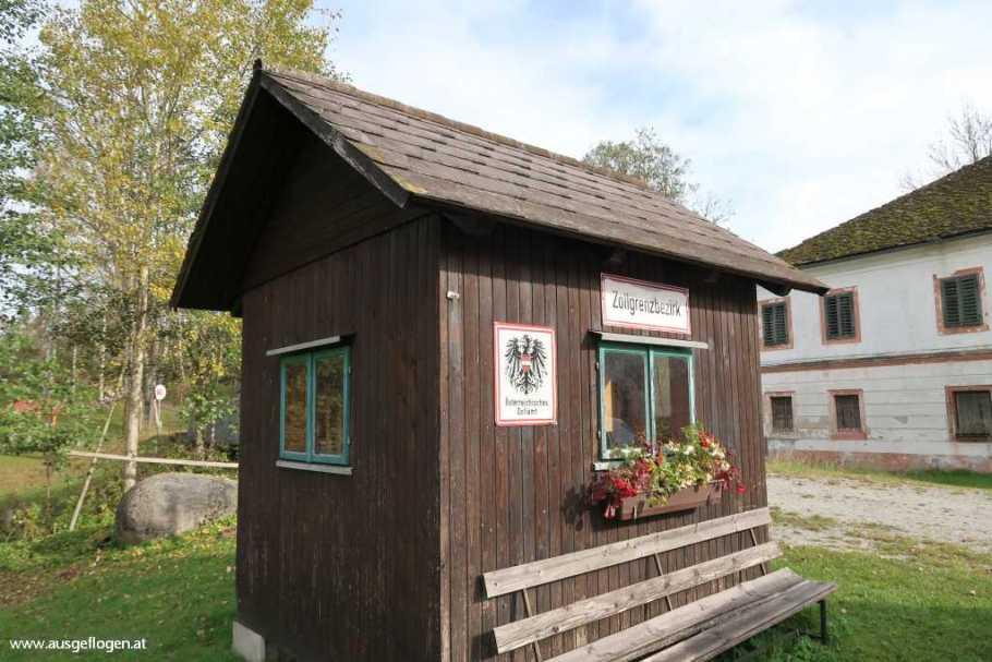 Zollwachhütte an der Maltsch in Hammern