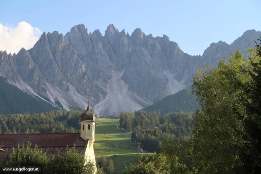 Dolomitenblick Innichen Tirol schöne Orte