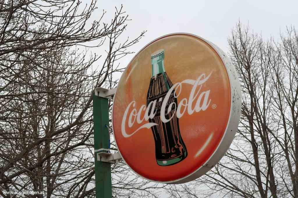 altes Coca Cola Schild