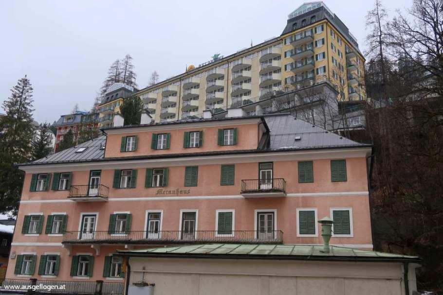 Bad Gastein Sehenswürdigkeiten verfallene Hotels Salzburger Gasteinertal