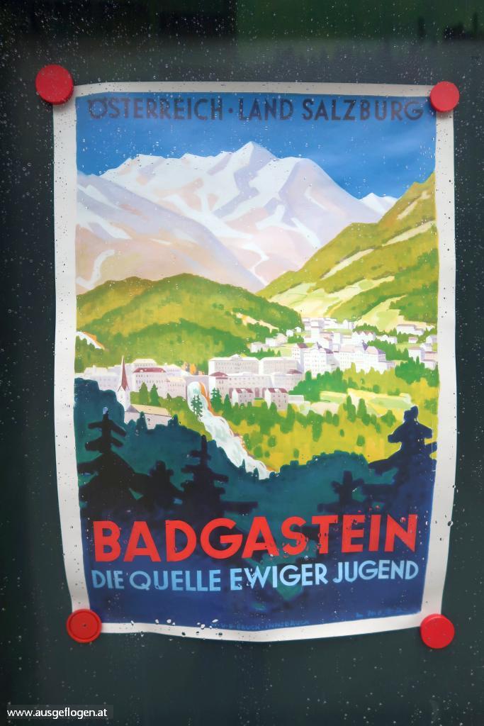 Bad Gastein alte Plakate