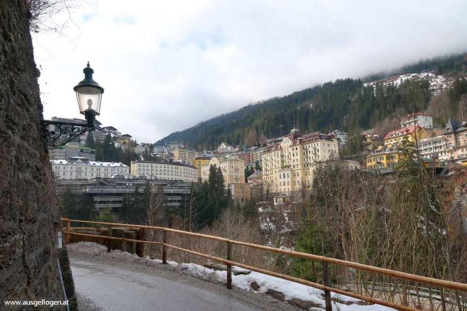 Bad Gastein Kaiser Wilhelm-Promenade Eichhörnchenweg