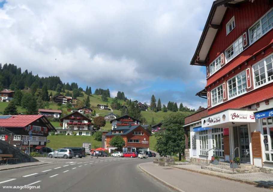 Exklaven Österreich Kleinwalsertal