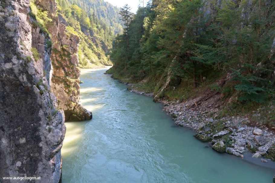 Kaiserwinkl Entenlochklamm Kössen Schmugglerweg Tirol schöne Orte