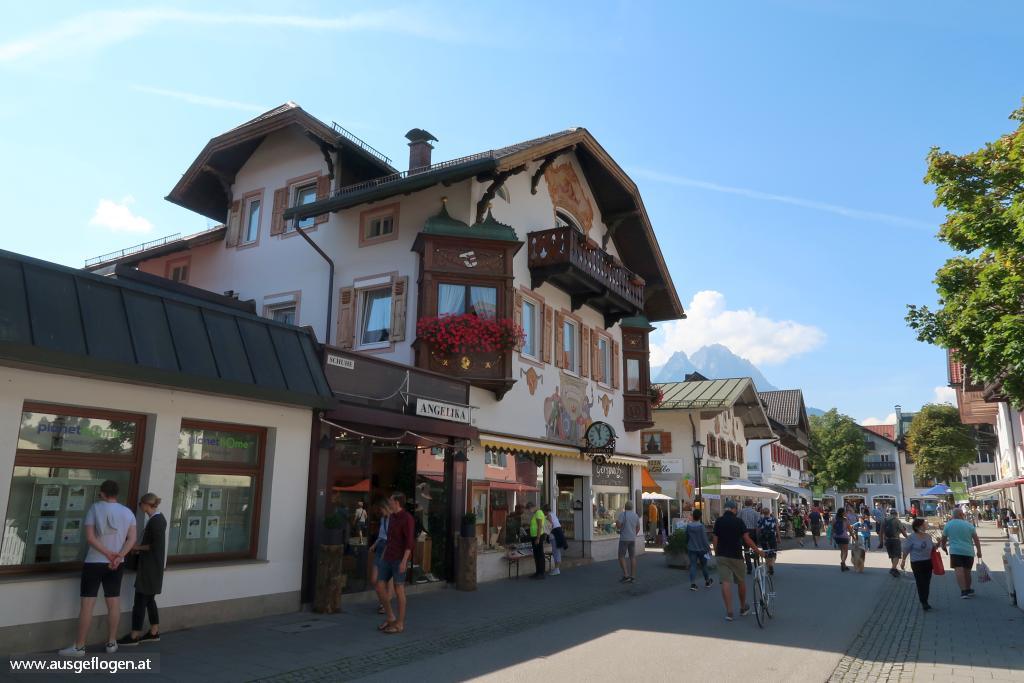 Garmisch-Partenkirchen Fußgängerzone