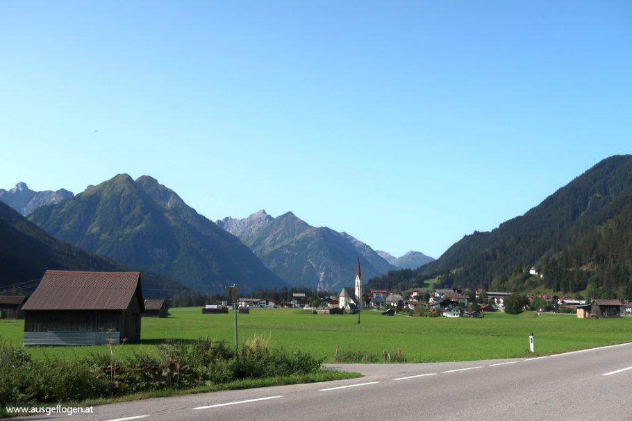 Lechtal Ausflugsziele Elbigenalp
