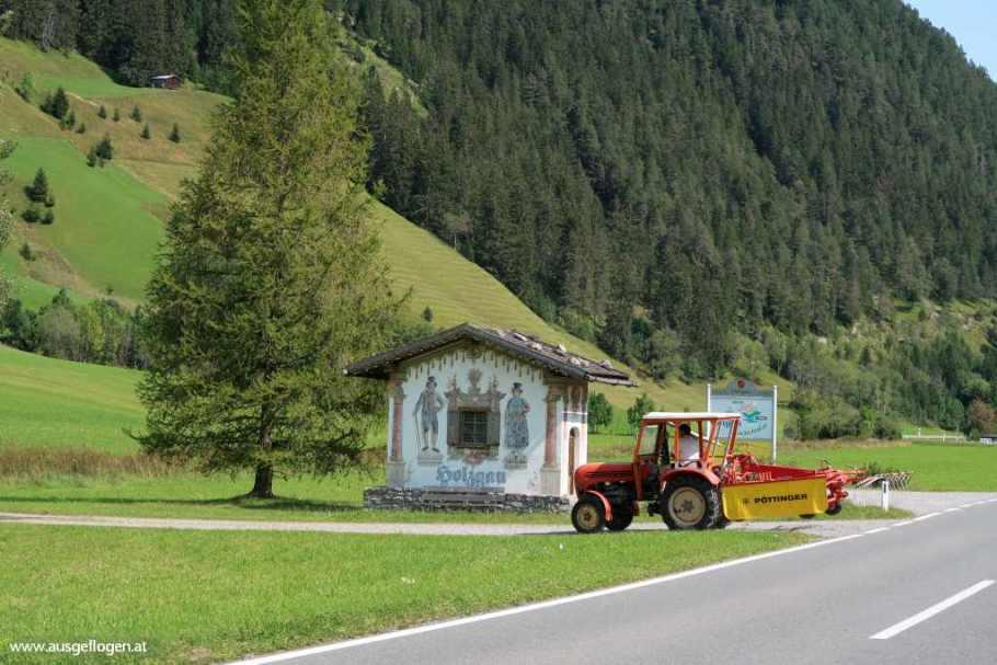 Holzgau im Lechtal Tirol schöne Orte