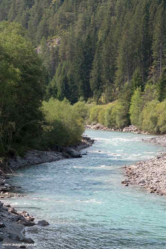 Tiroler  Lech einer der letzten Wildflüsse Europas