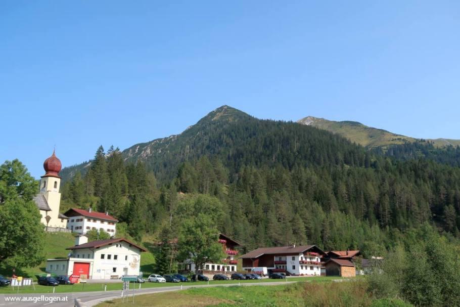 Namlos Lechtal Ausflugsziele Tirol schöne Orte