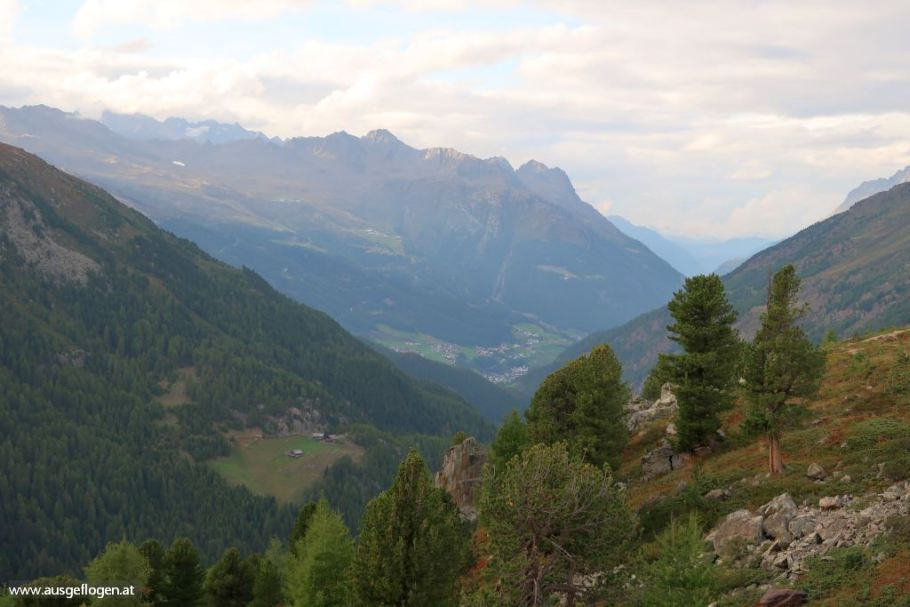 Ötztaler Alpen Tirol schöne Orte