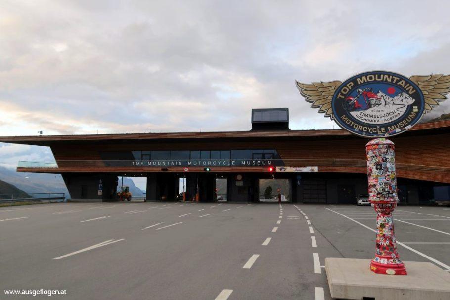 Timmelsjoch Hochalpenstraße Passhöhe Mautstelle