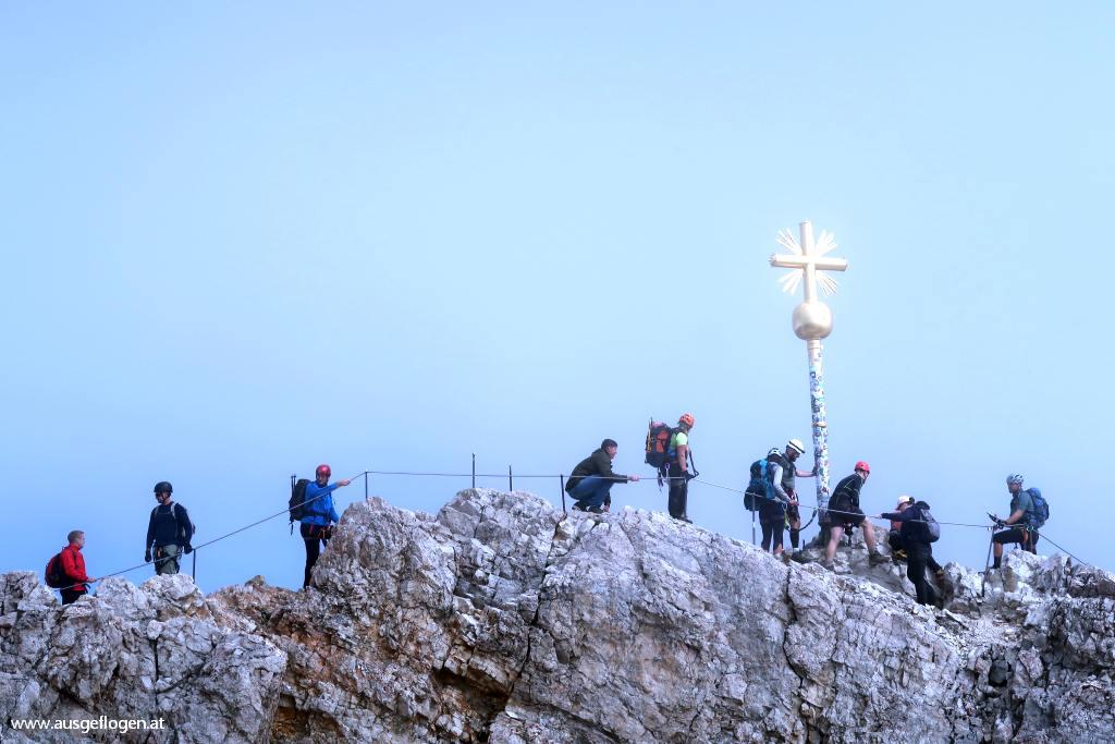 Zugspitze Gipfelkreuz