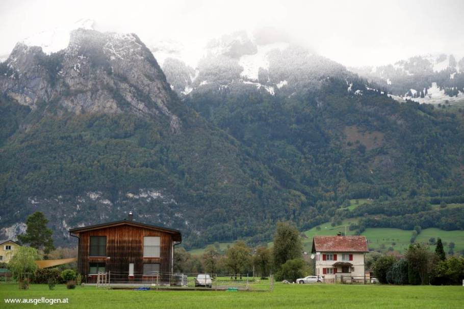 Bangs Feldkirch westlichster Ort Österreichs