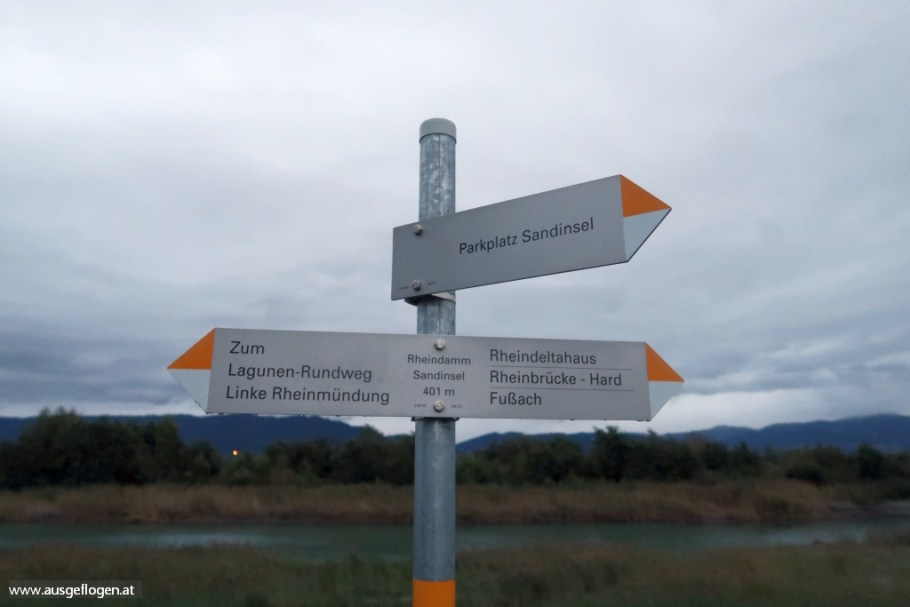 Rheinmündung Fußach schöner Ort am Bodensee