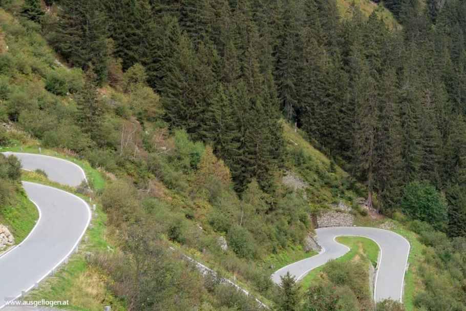 Silvretta Hochalpenstraße Montafon Ausflugsziel