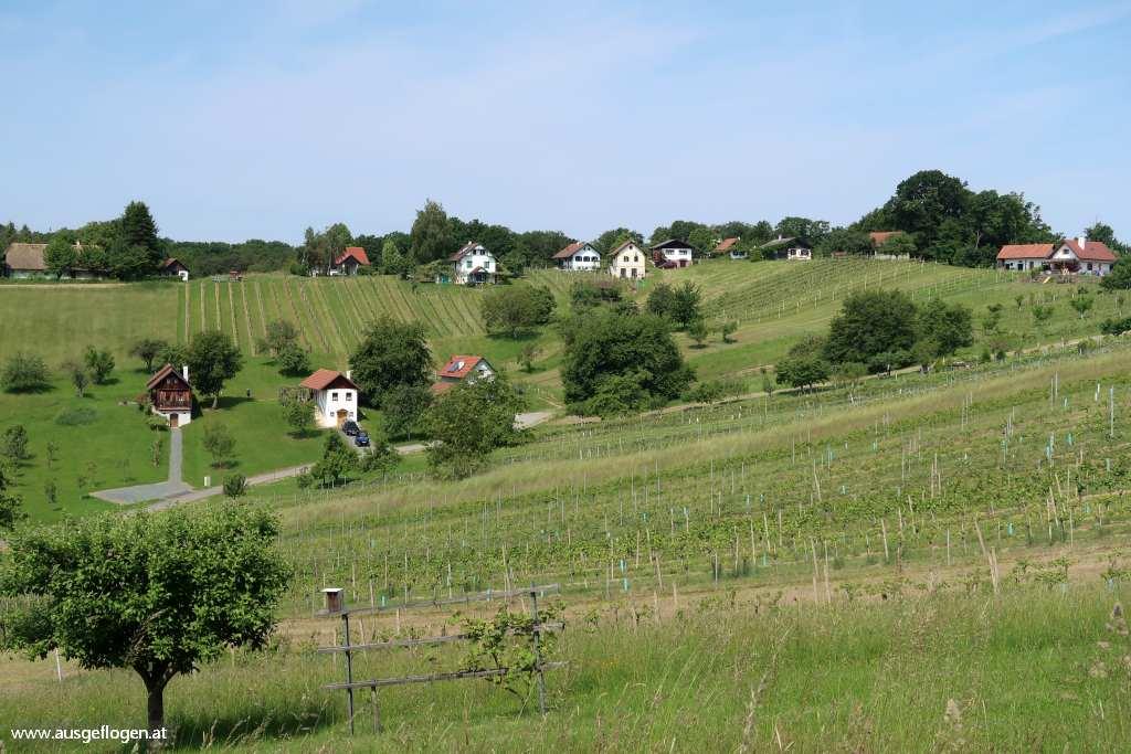 Paradiesroute Südburgenland Etappen Kellerstöckl Hamerlberg