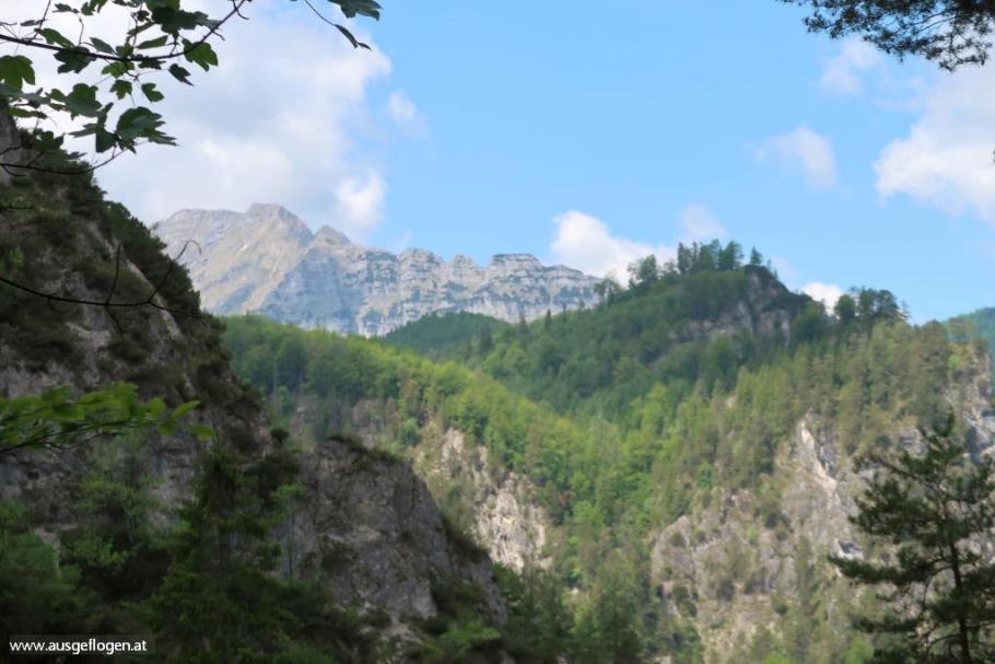 Einstieg Ötschergräben Ötscherblick Rauher Kamm