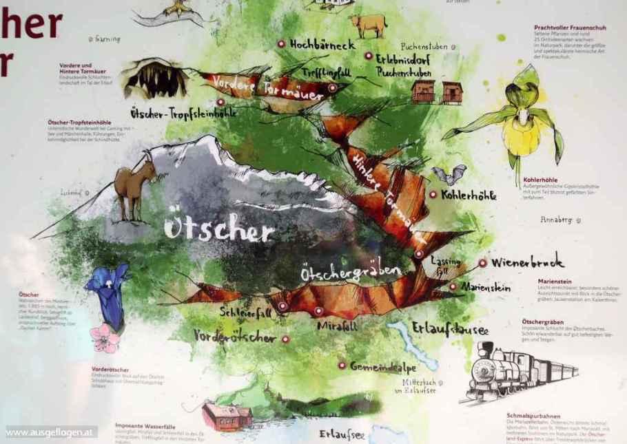 der Naturpark Ötscher-Tormäuer