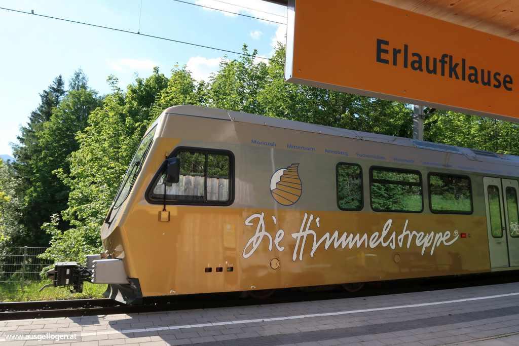 Bahnhof Erlaufklause Mariazellerbahn