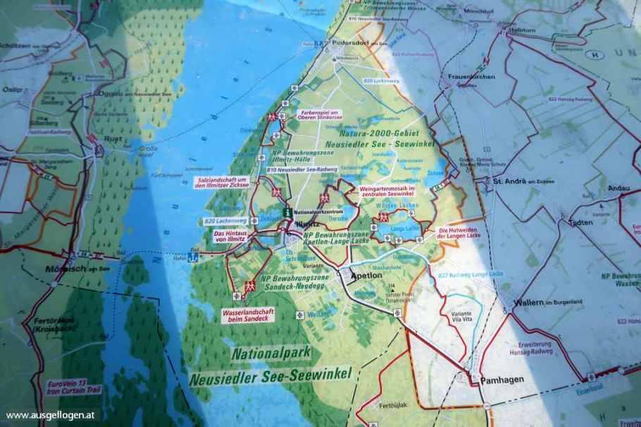 Lackenradweg Karte