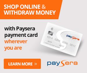 Paysera Visa Kreditkarte im Test