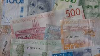 Schwedisches Geld umwechseln