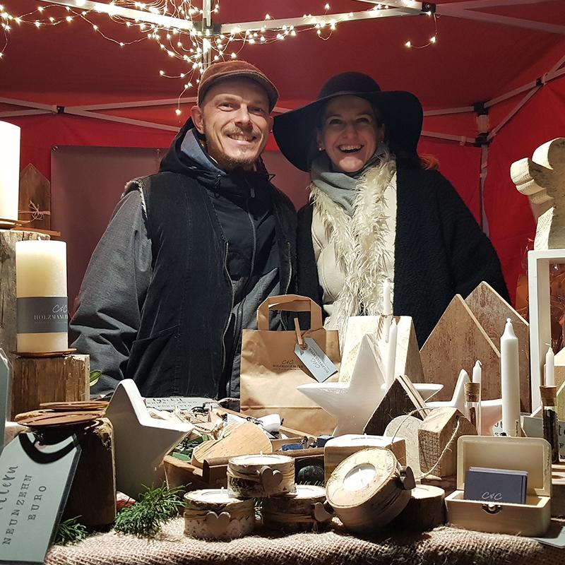 C&C HOLZMANUFAKTUR - unser erster Adventsmarkt